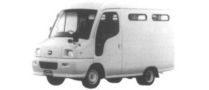 Nissan Atlas Loco 100 2WD HIGH ROOF 2 SEATERS 1995 г.