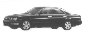 Nissan Cedric V30E Gran Tourismo S 1995 г.