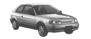 Toyota Corolla II Windy 1300 EFI 1995 г.