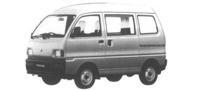 Mitsubishi Minicab VAN 4WD CL HIGH ROOF 1995 г.