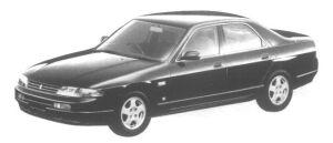 Nissan Skyline 4 door Sedan GTS TypeG 1995 г.