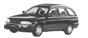 Mitsubishi Libero Monte 4WD 1800 1995 г.