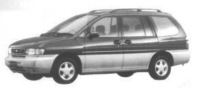 Nissan Prairie 2WD JOY (7 seaters) 1995 г.