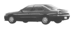 Mitsubishi Eterna V6 1800 24V Visage 1995 г.