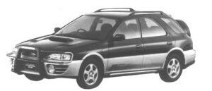 Subaru Impreza Sport Wagon Global EX 1995 г.