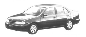 Nissan Pulsar 4 door Sedan 1500 X1 1995 г.