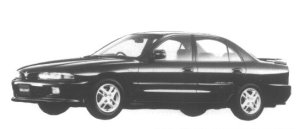 Mitsubishi Galant V6 2000 MIVEC-MD VX-R 1995 г.