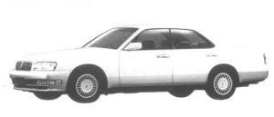 Nissan Cedric V30 Twincam Turbo VIP 1995 г.