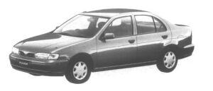 Nissan Pulsar 4 door Sedan 1500 CJ.I 1995 г.
