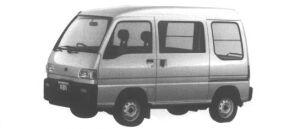 Subaru Sambar VAN 4WD HIGH ROOF SDX SUPER CHARGER 1995 г.