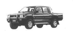 Mitsubishi Strada Black Edition 1995 г.