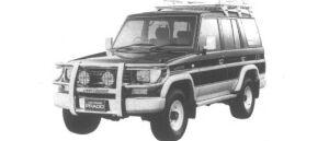 Toyota Land Cruiser Prado Active Vacation EX Wide 1995 г.