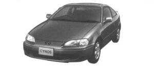 Toyota Cynos 1.5B 1995 г.