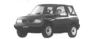 Suzuki Escudo Convertible 1600 1995 г.