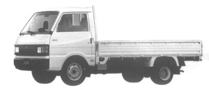 Mazda Ford Truck J100 WIDE&LOW 1.5T LONG BODY 2200 DIESEL 1995 г.