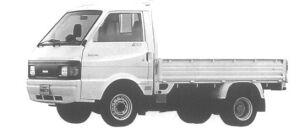 Nissan Vanette Truck 4WD SUPER LOW, DOUBLE TIRE GL GASOLINE 1995 г.