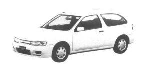 Nissan Pulsar Serier 3 door H/B 1500 X1 1995 г.