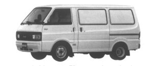 Mazda Bongo VAN WIDE LOW STANDARD ROOF 2.2D 5DOOR DX 1995 г.