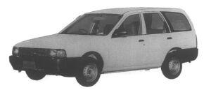 Nissan AD VAN (4DOOR) LPG DX 1995 г.