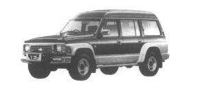 Nissan Safari Extra High Roof Granroad 4.2Diesel Turbo 1995 г.