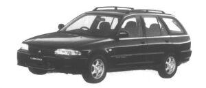 Mitsubishi Libero GT 4WD 1800 1995 г.