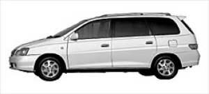 "Toyota Gaia 2WD 6-seaters ""G Package"" 2002 г."