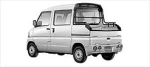 Mitsubishi Minicab DOUBLE CAB 2002 г.