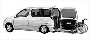 Toyota Funcargo Welcab Wheelchair Spec. (Slope-type) 2002 г.