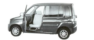 Mitsubishi Toppo With Swivel Passenger Sheet 2002 г.