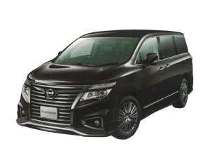 Nissan Elgrand 250 Highway STAR Ppremium Urban CHROME (2WD 7 Passenger) 2017 г.