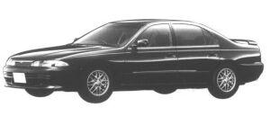 Mitsubishi Eterna 1.8 DOHC 16V VISAGE S 1994 г.