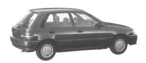 Toyota Starlet 4WD 5 DOORS 1994 г.