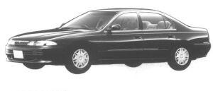 Mitsubishi Eterna V6 2.0 24V SUPER EXCEED 1994 г.