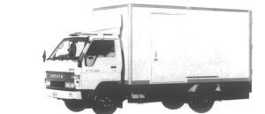 Toyota Dyna ALUMINUM VAN S 2T 1994 г.