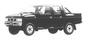 Nissan Datsun 4WD DOUBLE CAB AX TURBO 1994 г.