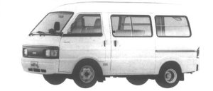 Nissan Vanette VAN 2WD HIGH ROOF 3/6 SEATER 5 DOOR DX 1994 г.