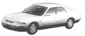 Nissan Skyline 4 DOORS SEDAN GTS 25 TYPE G 1994 г.
