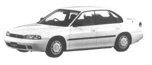 Subaru Legacy 4WD TOURING SPORT TX TYPE S 1994 г.