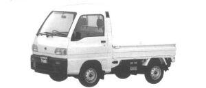Subaru Sambar Truck HIGH ROOF SDX 1994 г.