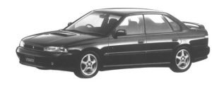 Subaru Legacy 4WD TOURING SPORT RS 1994 г.