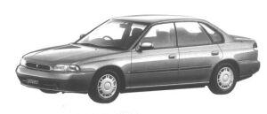 Subaru Legacy 4WD TOURING SPORT BRIGHTON 1994 г.