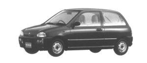 Subaru Vivio 3 DOORS SEDAN 4WD ef 1994 г.
