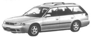 Subaru Legacy 4WD TOURING WAGON TS 1994 г.