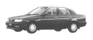 Nissan Pulsar 4 DOORS SEDAN 1500J1J-SV 1994 г.