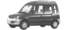 Mitsubishi Minica TOP R 4WD 1994 г.