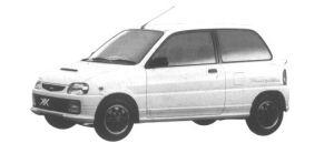 Daihatsu Mira TURBO TR-XX AVANZATO R4 1994 г.