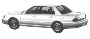 Mitsubishi Debonair 3.0L 1994 г.