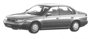 Subaru Legacy TOURING SPORT BRIGHTON 1994 г.