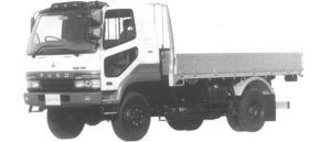 Mitsubishi Fighter 4WD 3.75T 1994 г.