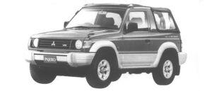 Mitsubishi Pajero J ZS 1994 г.